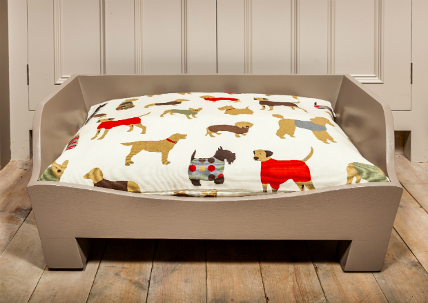 Raised Wooden Dog Bed, Charley Chau £260.00