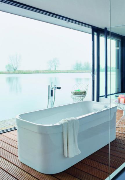 Happy D.2 Freestanding Bath, Duravit