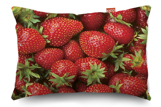 Strawberries Small Cushion, KICO Products £11.99