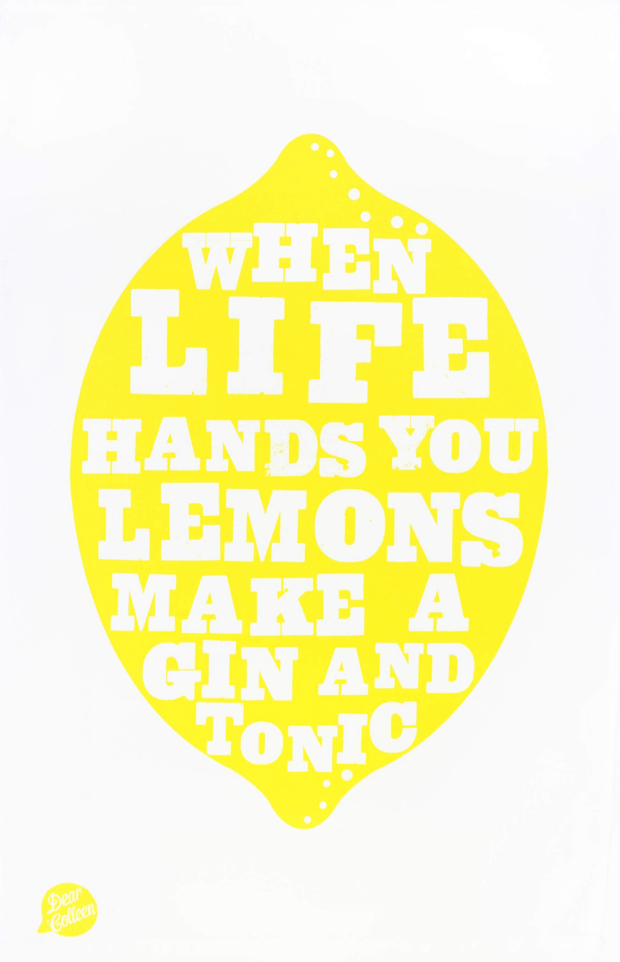 Lemons Tea Towel, Maiden £11.00