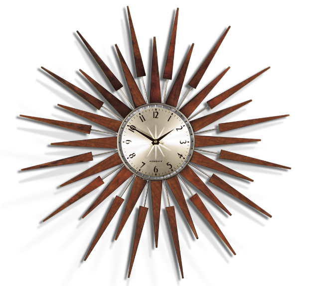 Newgate Pluto Wall Clock, Red Candy £120.00