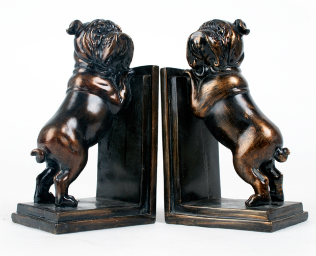 Pair of Bulldog Bookends, Swanky Maison £39.99