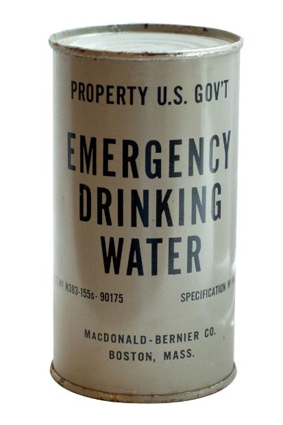 Vintage Emergency Drinking Water, THE OLD CINEMA £5.00