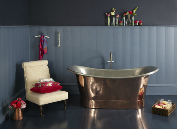 The Marseille Cyprium Copper Bath, The Cast Iron Bath Company