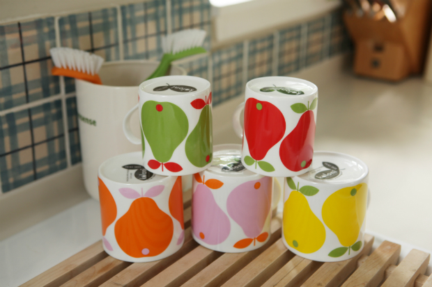 Koloni Stockholm Apple & Pear Mugs, The Scandinavian Shop £9.50