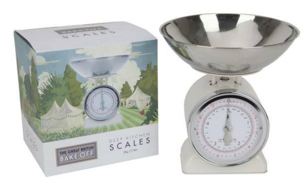 Great British Bake Off 5kg Kitchen Scales, The Hut £22.99
