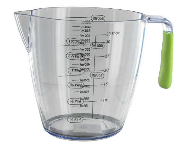 Kitchen Craft 3-Piece Colourworks Acrylic Measuring Jug Set, Amazon £11.95
