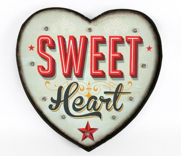 Sweet Heart Light Art, Aspace £79.00