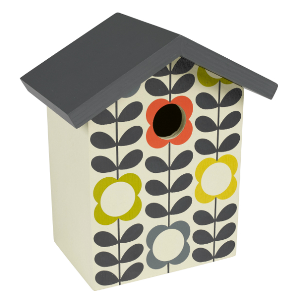 Orla Kiely Birdhouse, Berry Red £25.00