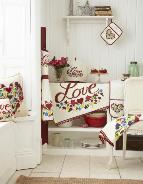 Boho Kitchen Textile Collection, Jan Constantine