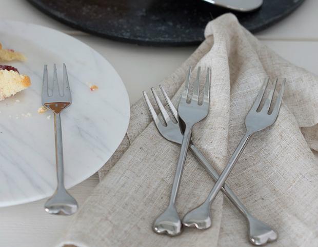 Heart Pastry Forks, Amara £24.00