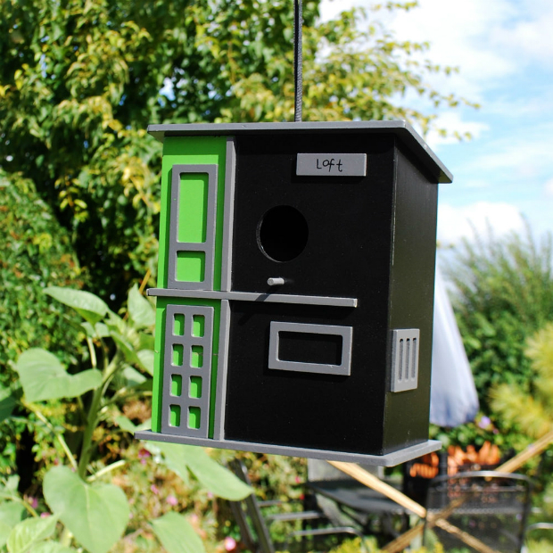 Modern 'Loft' Bird House, ebay £19.99