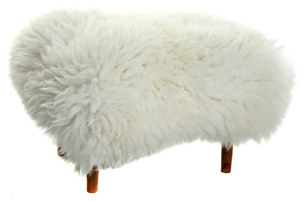Baa Stool Ivory, Lime Lace £235.00