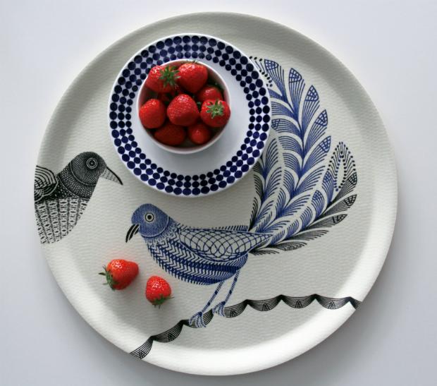 Love Birds Tray, Skandihome £29.00