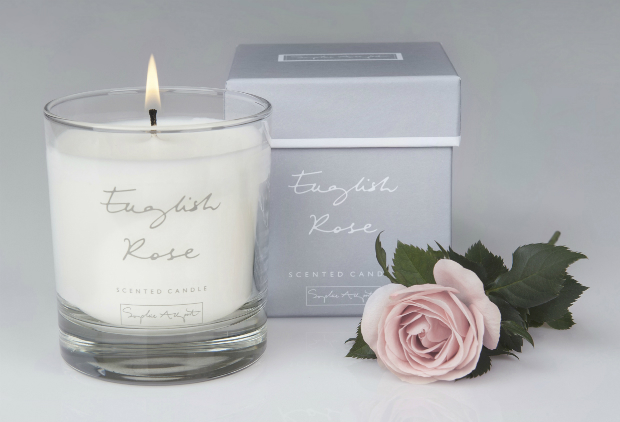 English Rose Scented Candle, Sophie Allport £20.00