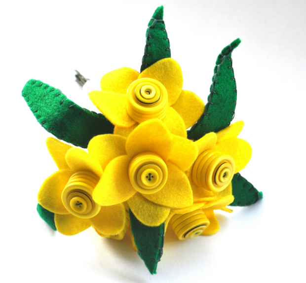 Daffodil Bouquet, Swanky Maisons £29.99