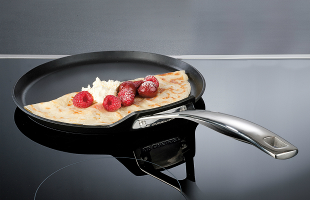 Le Creuset Toughened Non Stick Crepe Pan 24cm, Richmond Cookshop (Was £75.00) Now £59.00