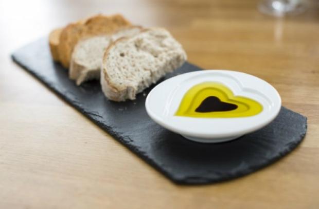 Just Slate Oil and Vinegar Dipping Set on Slate Base, Design 55 £30.00