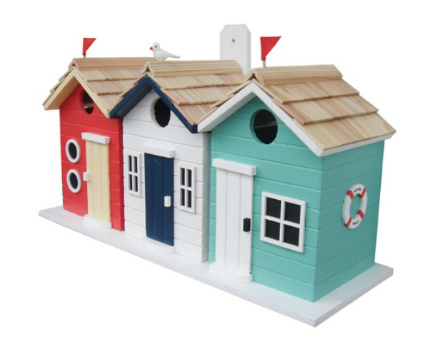 Beach Hut Birdhouse, Garden Bazaar £50.49