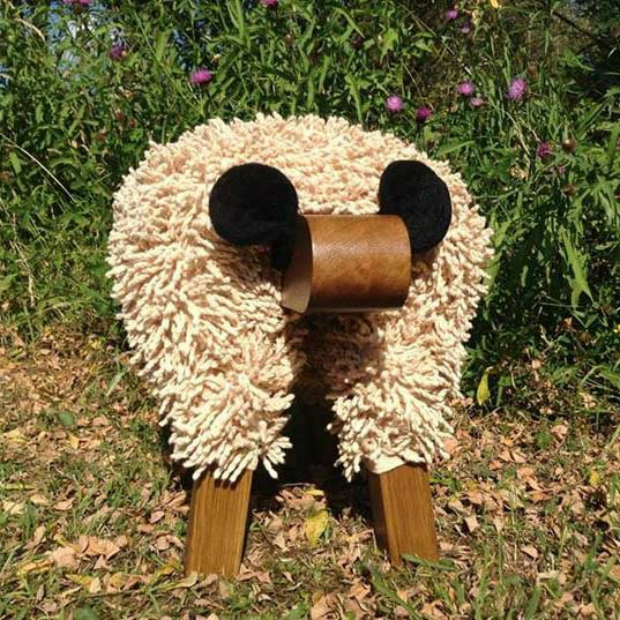 Foot Rest - Welsh Sheep, Welsh Gift Shop £99.99