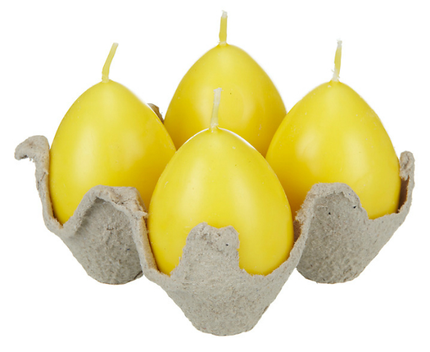John Lewis Egg-Shaped Candles, John Lewis £4.00