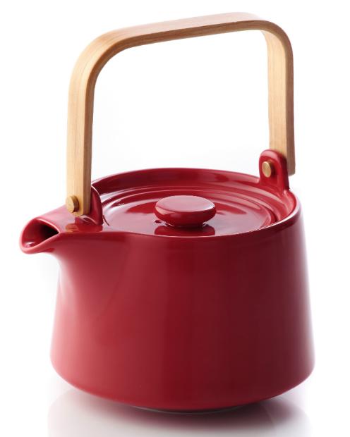 Red Mido Teapot, Alison Appleton Ltd £30.00