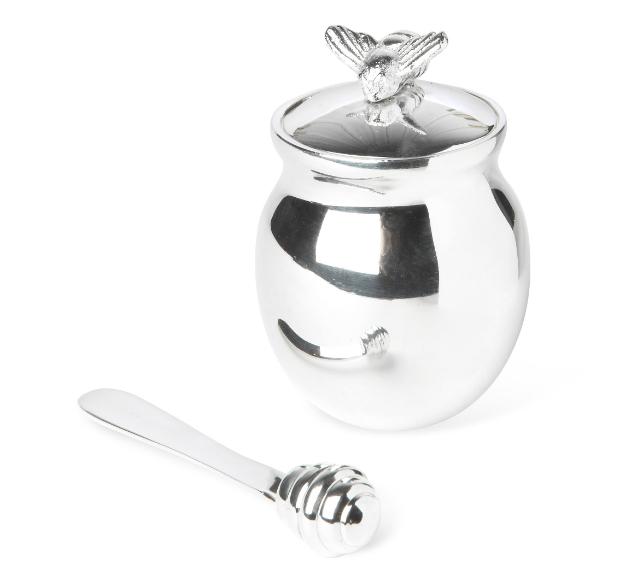 Honey Bee Honey Pot with Honey Spreader, Annabel James £32.50