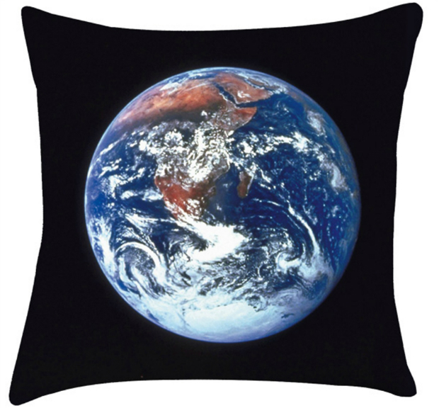 Planet Earth Cushion, Artylicious Home & Gifts £22.00