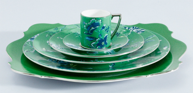 Jasper Conran - Chinoiserie Green, Wedgewood, from £22.50