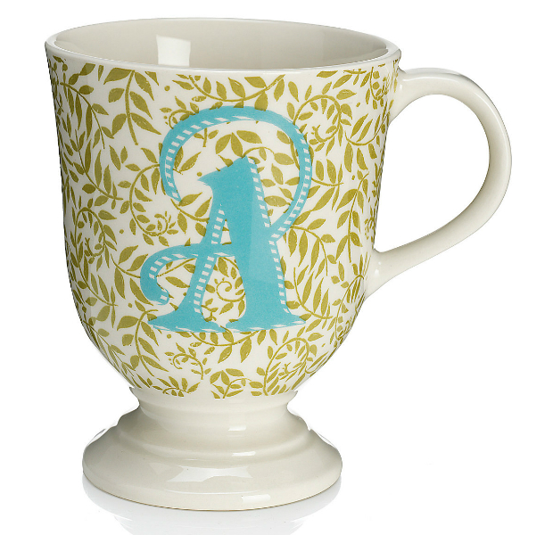 Alphabet A Mug, Marks and Spencer £9.50