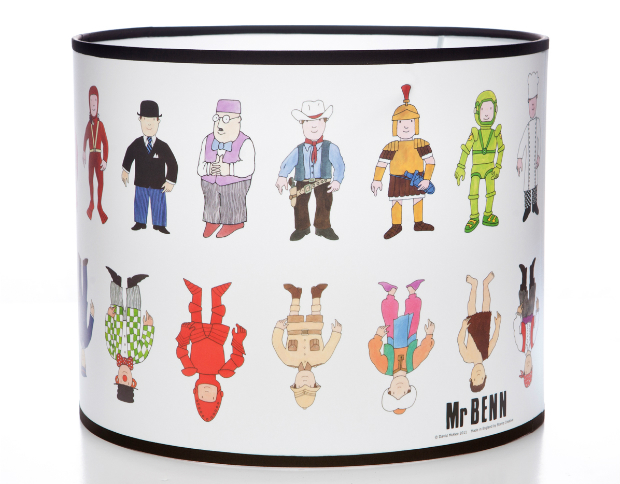 Mr Benn Characters Large Lampshade, Great British Designs £39.95