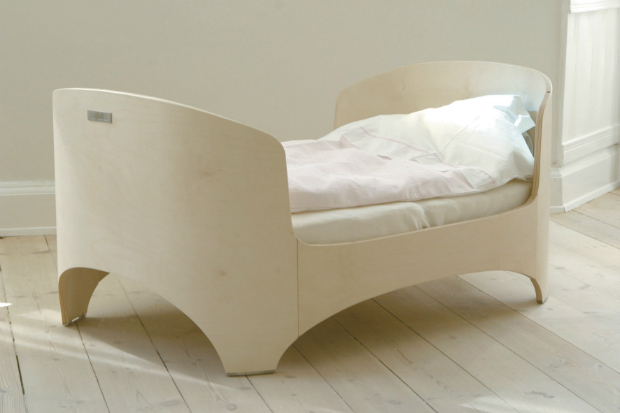Leander Junior Bed, Naturalmat £595