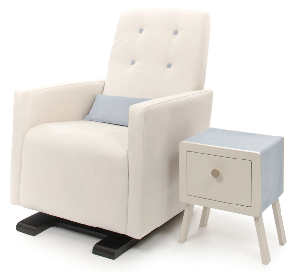 Go-Go Gilder Nursing Chair, Nubie - Modern Kids Boutique £875.00