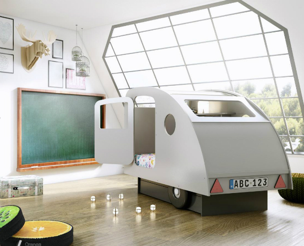 Fab Caravan Bed by 'Mathy by Bols', Nubie - Modern Kids Boutique £1235.00