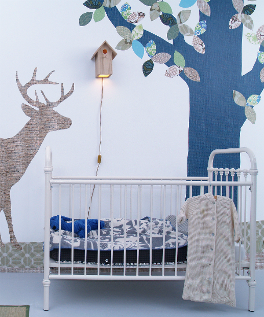 Wildlife Silhouette Wallpapers, Urbane Living £195.00