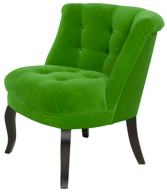 Velvet Tub Chair Emerald, Oliver Bonas £445.00