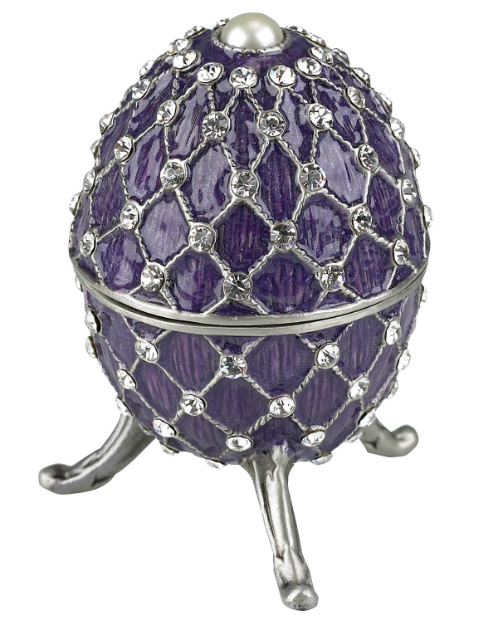 Gustavs Egg Diamanté Encrusted Trinket Box, Marks and Spencer £19.50
