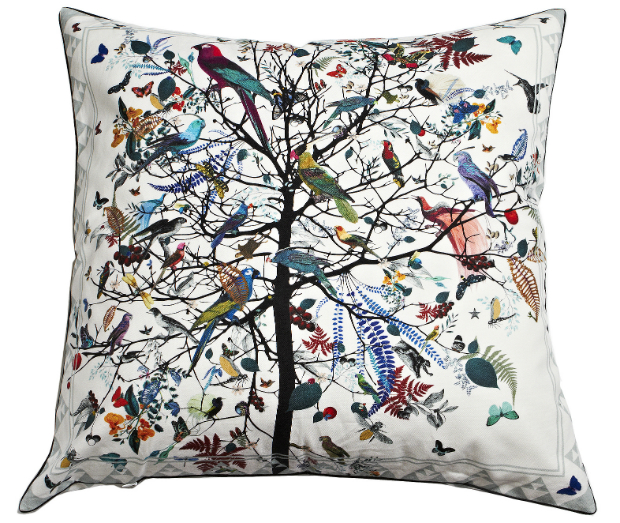 Hjartar Tre Cushion by Kristjana S. Williams, Rume £125.00