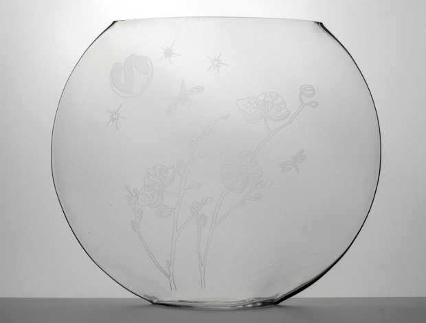 Dreamy Orchid Moon Vase, Sara Newman Design £210.00