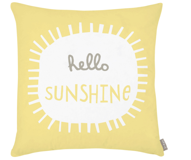 Freya Sunshine Cushion, Spoilt Rotten Gifts £24.00