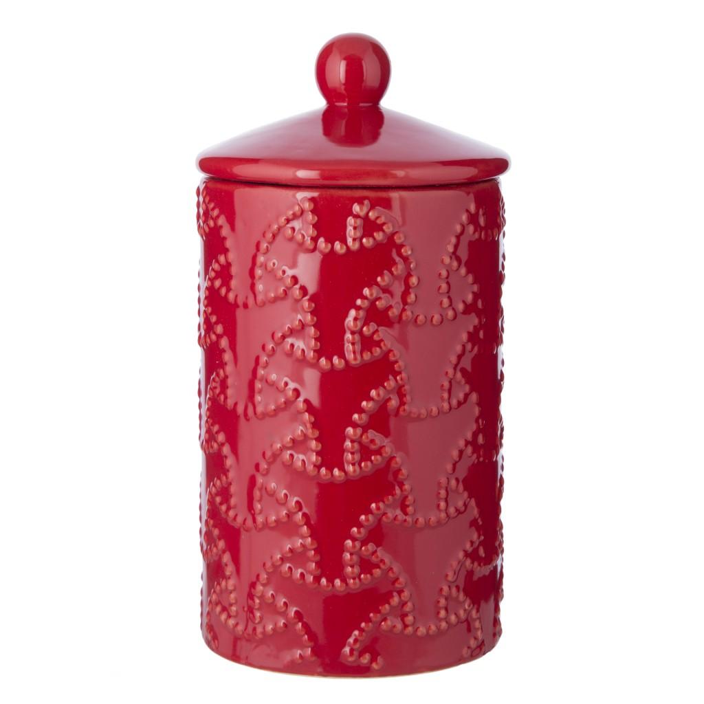Red Ceramic Jar, The Contemporary Home £14.00
