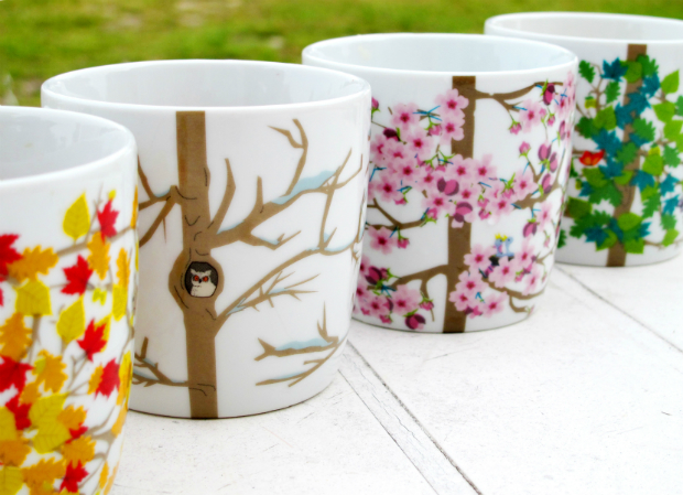Capventure Four Seasons Mugs, The Scandinavian Shop £16.00