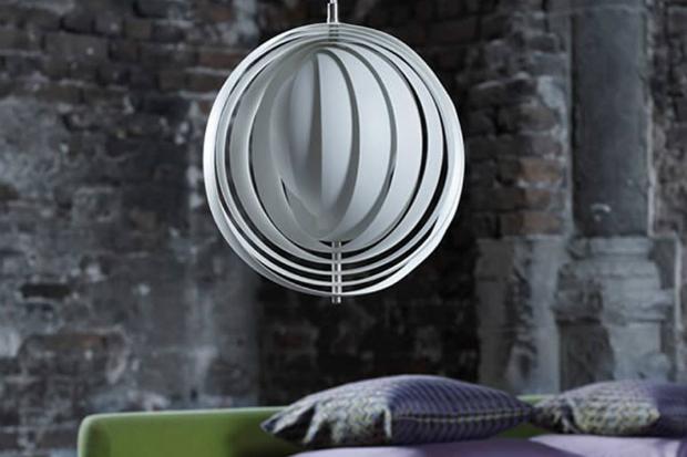 Verpan Moon Pendant, White, John Lewis £595.00