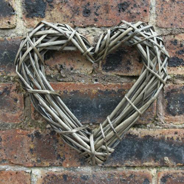 Rustic Wicker Hearts, The Hand Crafted Card Company £3.99
