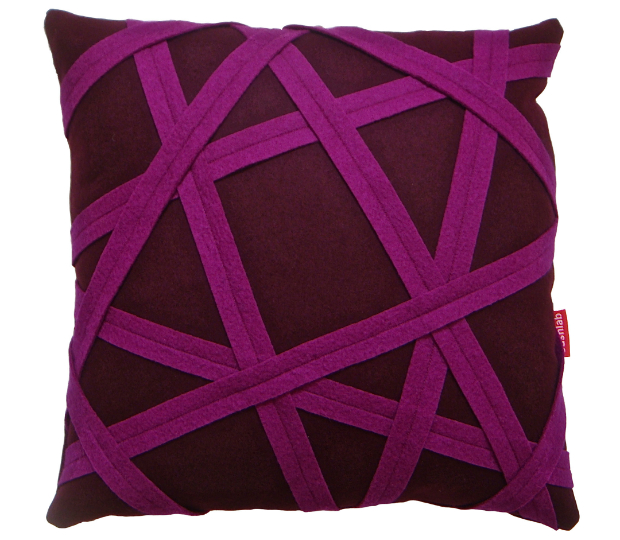 Purple Binding cushion, CUSHLAB £120.00