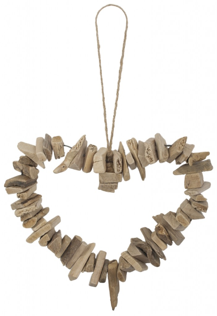Driftwood Heart Wreath, The Contemporary Home £20.00