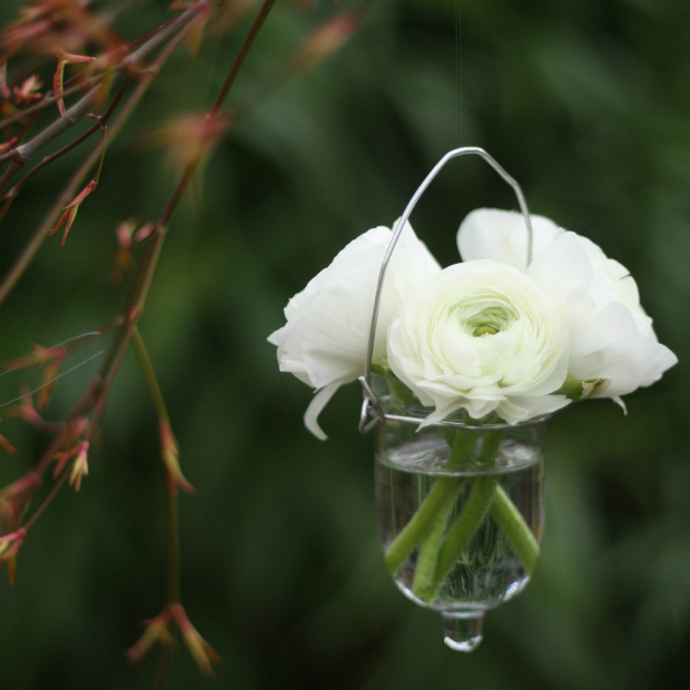 Hanging Glass Bud Vase, The Wedding of my Dreams £3.00