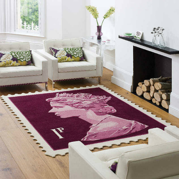 Stamp Rug, Not on the High Street £765.00