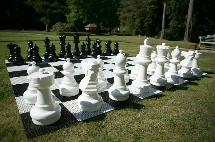 Uber Games Giant Chess Pieces, Outdoor Toys World £298.99Uber Games Giant Chess Pieces, Outdoor Toys World £298.99