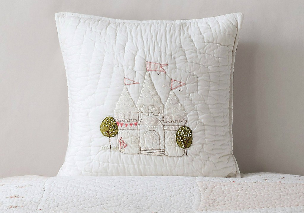 Castle Cushion Cover, The White Company £30.00